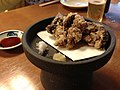 Karaage eel liver, goes very well with garlic and soy-sauce. - Flickr - odako1.jpg