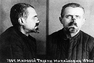 Michał Karaszewicz-Tokarzewski - Michał Karaszewicz-Tokarzewski after arrest by NKVD 1940