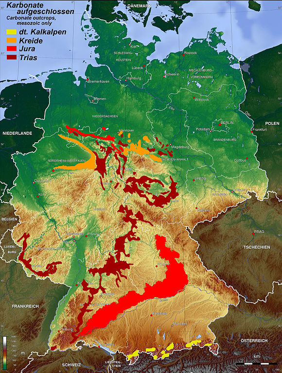 Vulkangebiete Deutschland