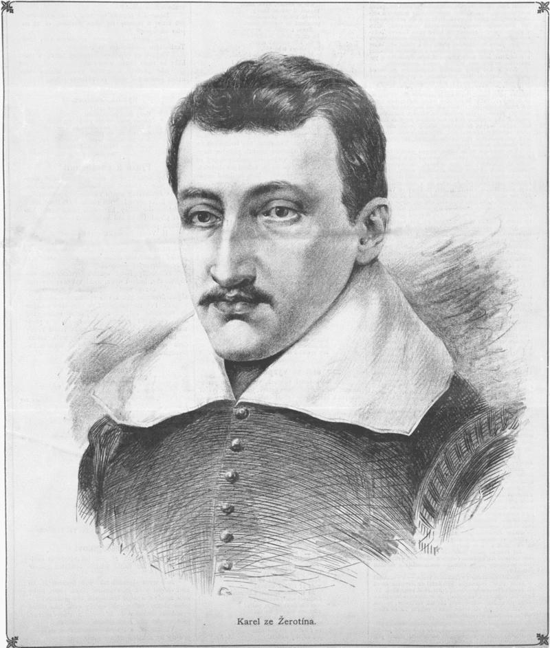 Karel starší ze Žerotína na portrétu od Jana Vilímka