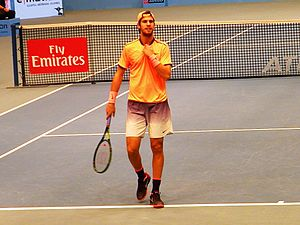 Karen Khachanov - Karen Khachanov at 2016 Erste Bank Open