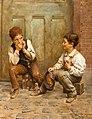 Karl Witkowski - Shoeshine Boys, 1889.jpg