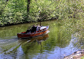 Karlbergskanalen - Karlbergskanalen in May 2006
