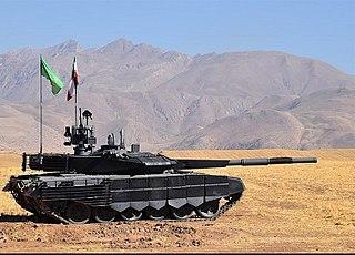 Tanks of Iran