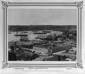 Kasımpaşa, Beyoğlu - Kasımpaşa in the late 19th century.