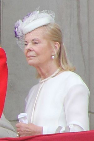 Katharine, Duchess of Kent - The Duchess at Trooping the Colour, June 2013