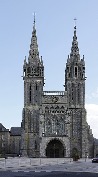 Roman Catholic Diocese of Quimper - Cathedral St.-Paul-Aurelian, Saint-Pol