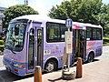 Kawagoe Shuttle at Tsurugashima Station.jpg