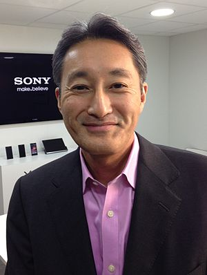 Kaz Hirai - Hirai at the Mobile World Congress 2013 in Barcelona