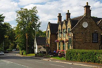 Keele - Image: Keele Village & Sneyd Arms