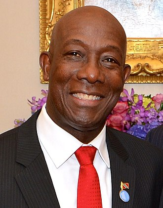 University of the West Indies - Keith Rowley: prime minister of Trinidad and Tobago