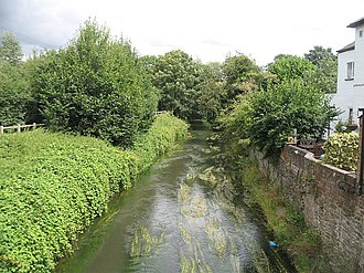 River Kenwater - River Kenwater in Leominster
