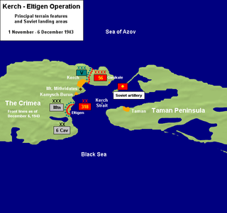Kerch–Eltigen Operation military operation