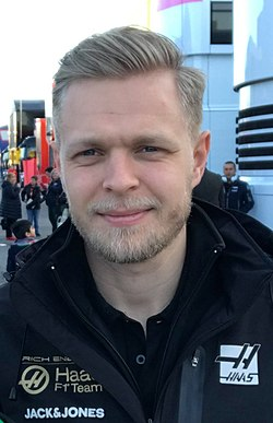 Kevin Magnussen, 2019 Formula One Tests Barcelona (cropped).jpg