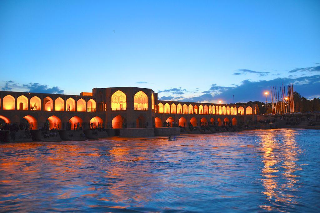 viajar a isfahan puente iran