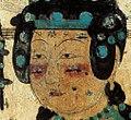 Khotanese donor ladies. Dunhuang cave 61b.jpg