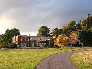 Killerton House in Broadclyst, Exeter, Devon, England