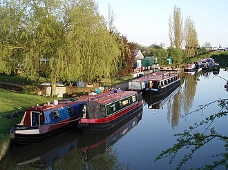 Northamptonshire - Kilworth Wharf on the Grand Union Canal