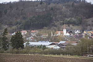 Kinding - Kinding, view from south