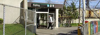 The Toronto Transit Commission's Kipling stati...