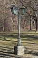 Klagenfurt Annabichl Ehrentaler Strasse 119 Schloss Ehrenthal Parklaterne 25012016 2650.jpg