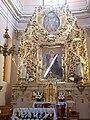 Klasztor kamedułów w Wigrach - ołtarz - obraz Matki Bożej 3.jpg