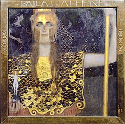 Klimt - Pallas Athene