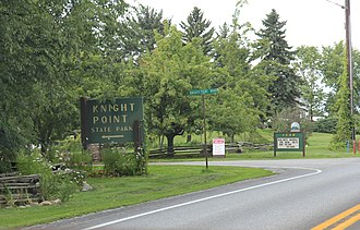 Knight Point State Park - Image: Knight Point State Park Entrance