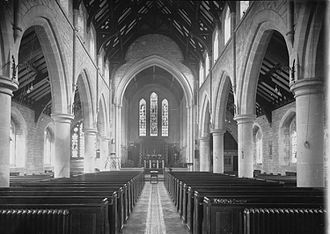 Knighton, Powys - Knighton Church, 1910's