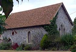 Knights Templar Chapel, Brimpton - geograph.org.uk - 1513215.jpg