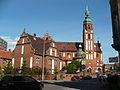 Kościół pw.Świętej Trójcy i plebania.JPG