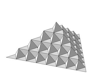 Koch snowflake - von Koch surface