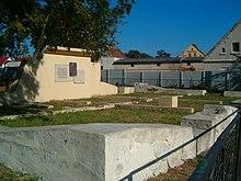 Ruine der Zuckerfabrik in Konary (Quelle: Wikimedia)
