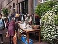 Koningsdag in Amsterdam, Lauriergracht foto 8.JPG