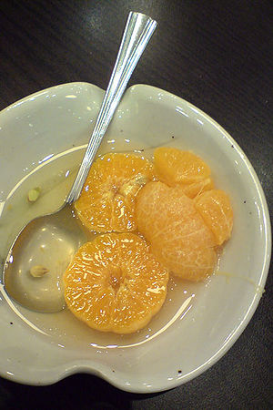 Hwachae - Milgam-hwachae (citrus punch)