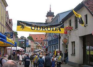 Kościerzyna - Meeting of Kashubians on the streets of Kościerzyna, 2004