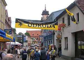 Kościerzyna Place in Pomeranian, Poland