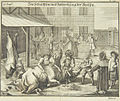 Kosher butchering and preparation of food, 1724, from Juedisches Ceremoniel.jpg