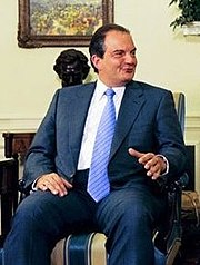 Kostas Karamanlis, the current Prime Minister of Greece.