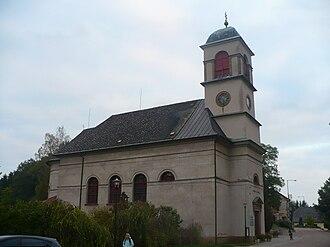 Dolní Dobrouč - Saint Nicholas Church