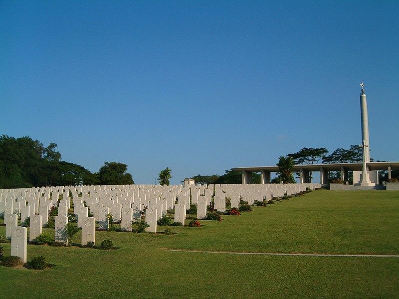 DEFIS ZOOOOOOM Monde A061 à A121 (Juillet 2009/Mars 2010) - Page 63 800px-Kranji_War_Memorial_grounds_2
