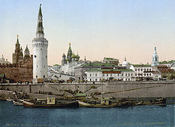Moscow Kremlin in the 19th century.