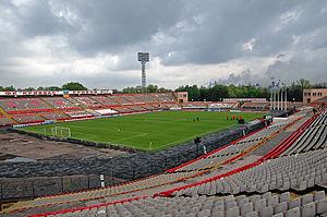 Kryvyi Rih - Metalurh Stadium, home ground of FC Kryvbas Kryvyi Rih