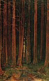 Kuindzhi Sunset in a forest 1878.jpg