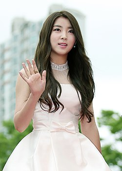 Kwon So-hyun arrives at the red carpet event of the Pifan in Bucheon on July 17, 2014.jpg