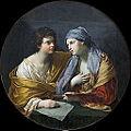 L'Union du dessin et de la couleur, Reni (Louvre INV 534) 03.jpg
