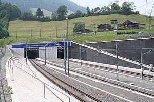 Lötschberg Basistunnel Nordportal