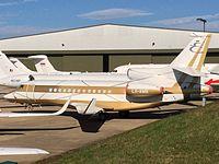 LX-AMB - FA7X - Global Jet Luxembourg