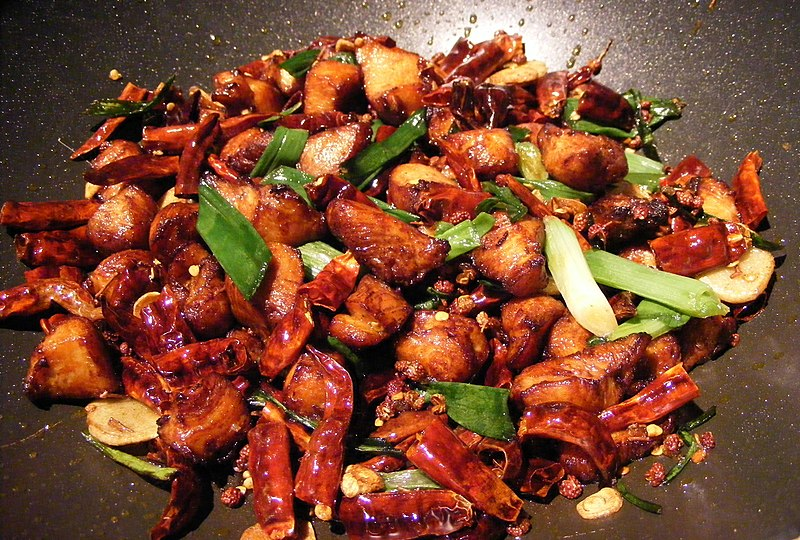 La Zi Ji (Chicken with Chiles) (2269517013).jpg