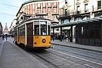 La vettura storica 1503 dell'ATM di Milano transita in piazza Cordusio.jpg